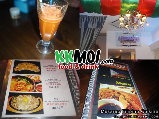 Masarap Filipino Cuisine at Lintas