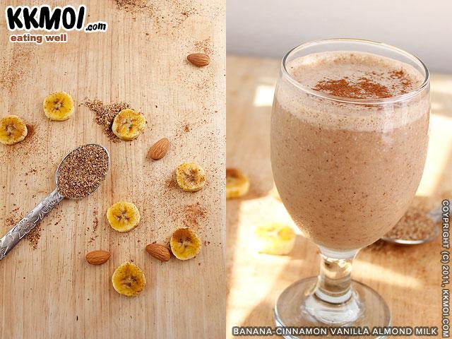 Banana Almond Crush Smoothie Recipes — Dishmaps